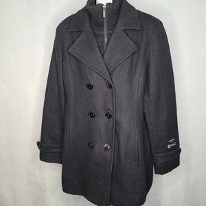 Kenneth Blake Double Breasted Pea Coat